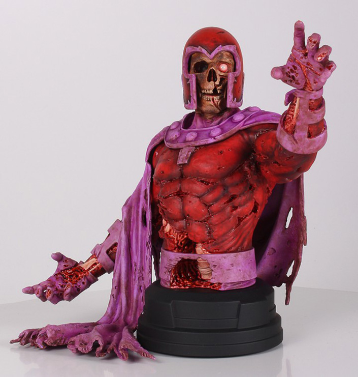 Exclusive Zombie King Arthur Suydam, Marvel Zombies Magneto Bust!