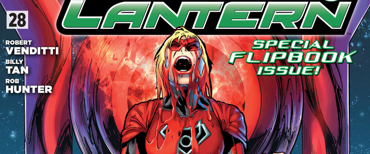 Avant-Première VO: Review Green Lantern/Red Lanterns #28