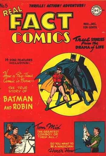 Real Fact Comics #5 (1946)