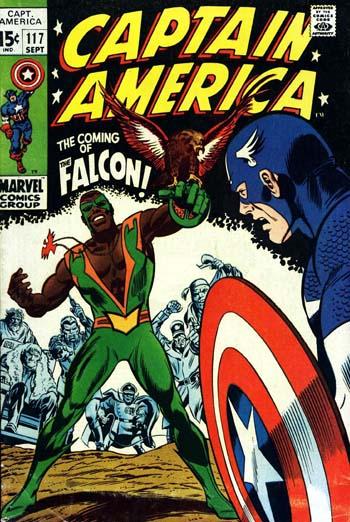 La première apparition du Falcon.