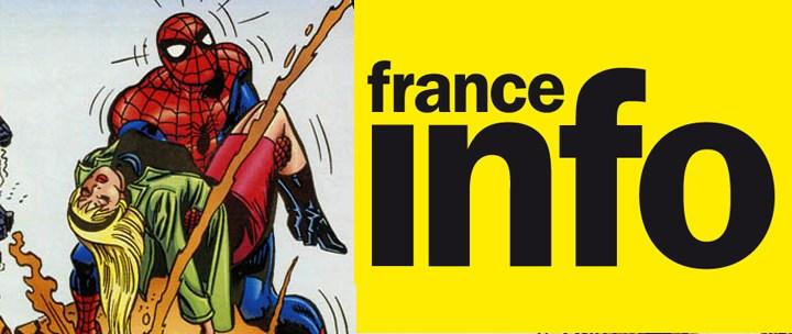 Comic Box & Spider-Man @ 17/20 de France Info