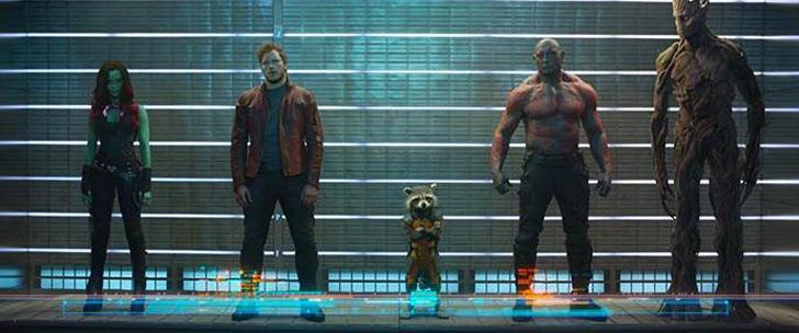 Les Gardiens de la Galaxie, à la rencontre des personnages…