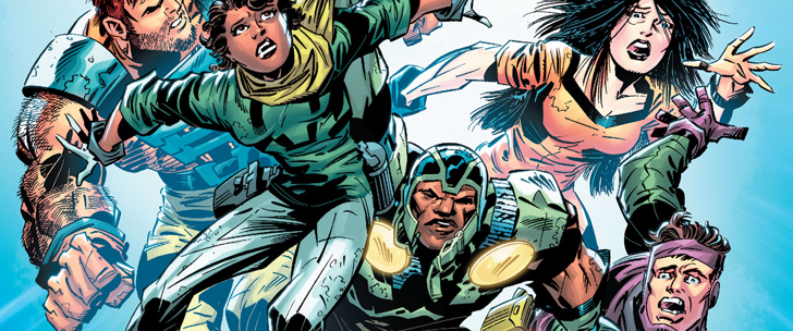 Avant-Première VO: Review Infinity Man And The Forever People #1