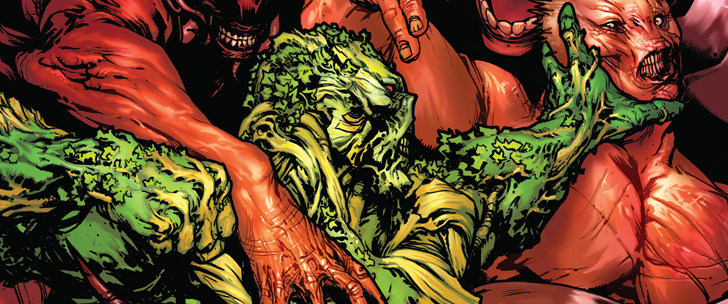 Avant-Première VO: Review Swamp Thing #33