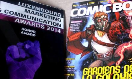 Comic Box, award d'honneur…