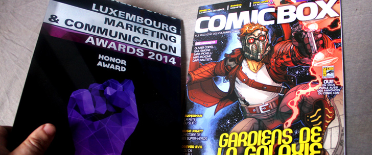 Comic Box, award d'honneur…