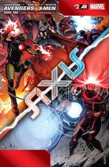 Avant-Première VO: Review Avengers & X-Men: Axis #2