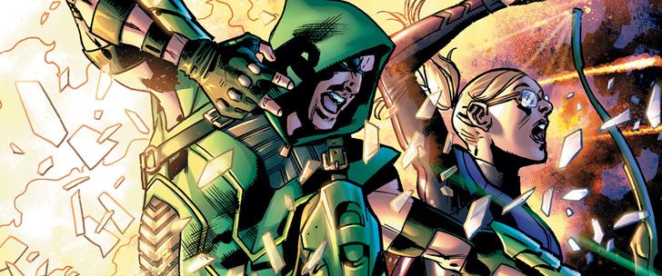 Avant-Première VO: Review Green Arrow #36