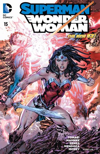 Avant-PrSuperman/Wonder Woman #15