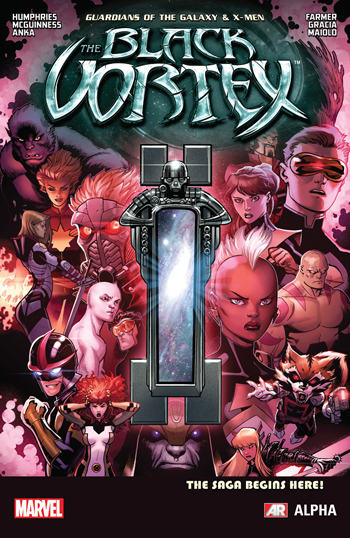 Guardians of the Galaxy/X-Men: Black Vortex Alpha #1