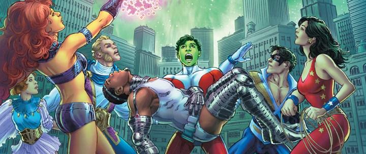 Avant-Première VO: Review Convergence: New Teen Titans #2