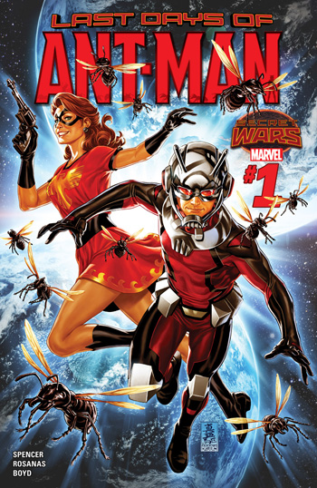 Last Days Of Ant-Man #1