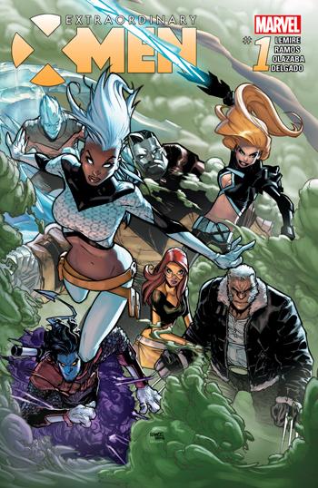 Extraordinary X-Men #1