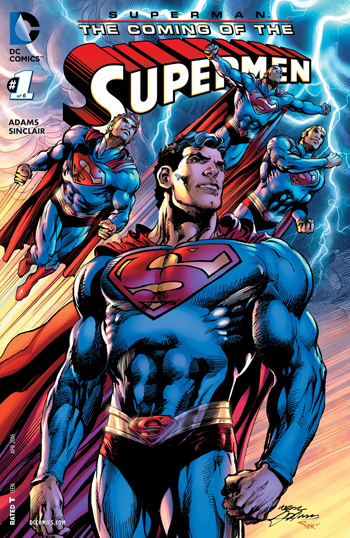 Superman - The Coming Of The Supermen #1