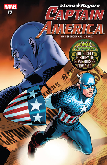 Avant-Première VO: Review Captain America - Steve Rogers #2