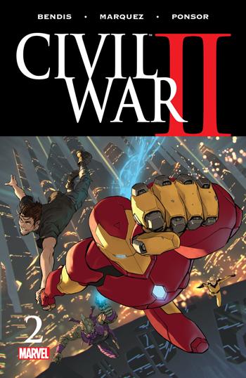 Avant-Première VO: Review Civil War II #2