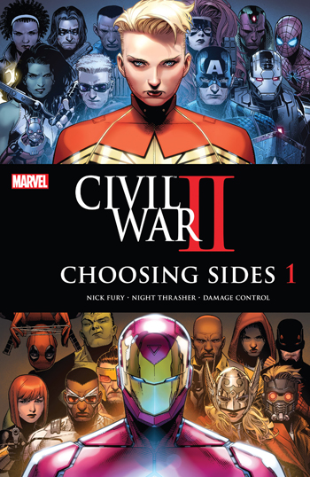 Avant-Première VO: Review Civil War II - Choosing Sides #1
