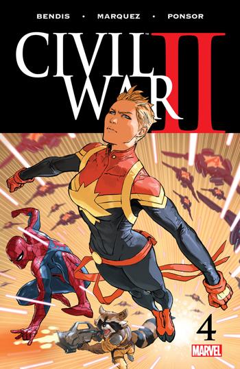 Avant-Première VO: Review Civil War II #4