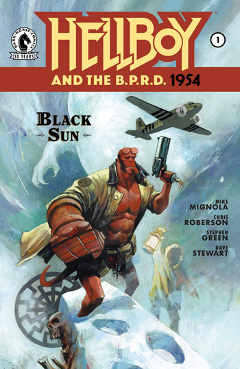 Avant-Première VO: Review Hellboy And The B.P.R.D.: 1954 - Black Sun #1