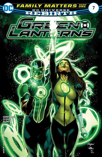 Avant-Premi�re VO: Review Green Lanterns #7