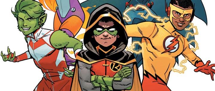 Avant-Première VO: Review Teen Titans: Rebirth #1