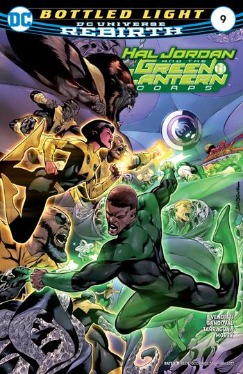 Avant-Première VO: Review Hal Jordan And The Green Lantern Corps #9