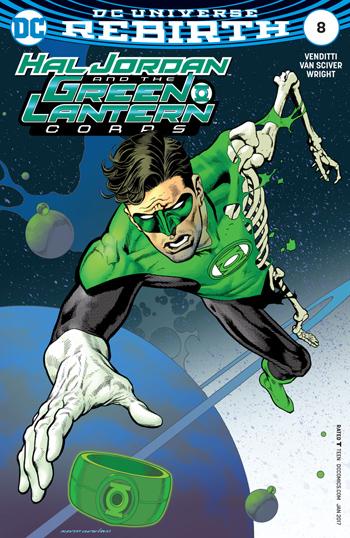 Avant-Première VO: Review Hal Jordan And The Green Lantern Corps #8