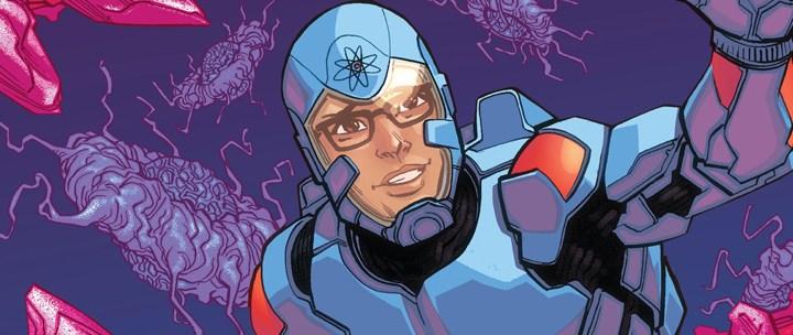 Avant-Première VO: Review Justice League Of America – The Atom Rebirth #1