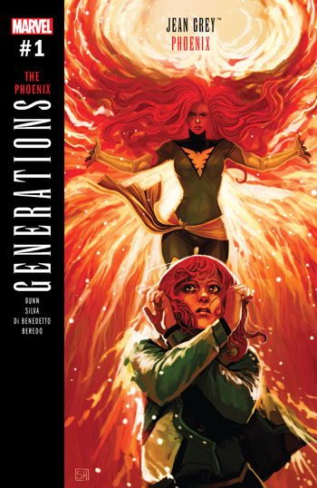 Generations - Phoenix & Jean Grey #1