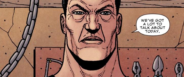 Steve Dillon et le Punisher, suivez mon regard!