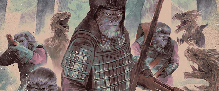Kong On The Planet Of The Apes #1