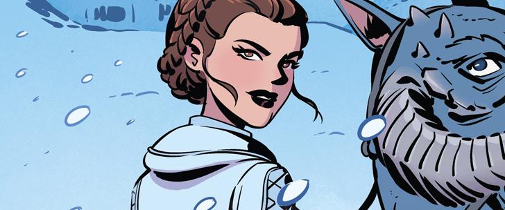 Avant-Première VO: Review Star Wars Adventures – Forces of Destiny: Princess Leia #1
