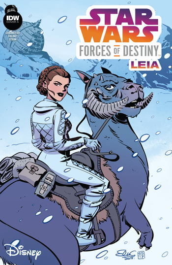 Star Wars Adventures - Forces of Destiny: Princess Leia #1