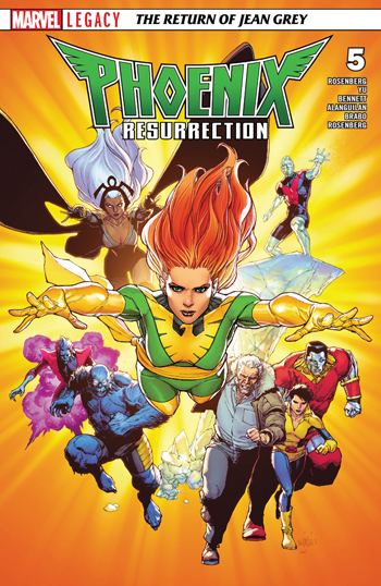 Phoenix Resurrection - The Return of Jean Grey #5