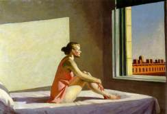 sh vitre hopper morning sun