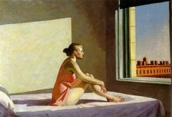 sh vitre hopper morning sun