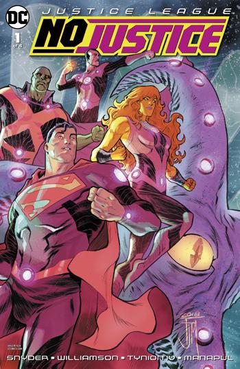 Justice League - No Justice #1