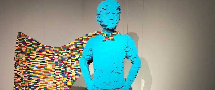 Exposition Art of the Brick : DC Super-Heroes