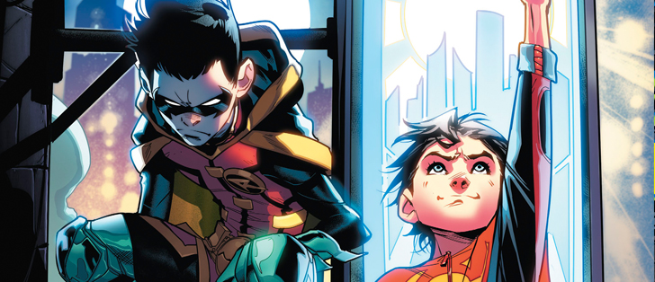 Avant-Première  VO: Review Adventures of the Super Sons #1