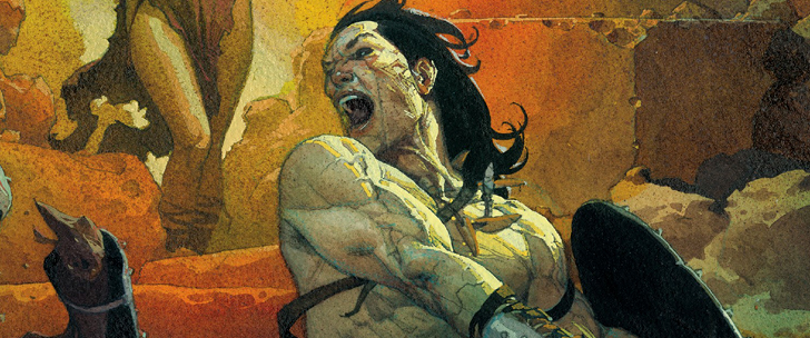 Avant-Première Comics VO: Review Conan The Barbarian #1