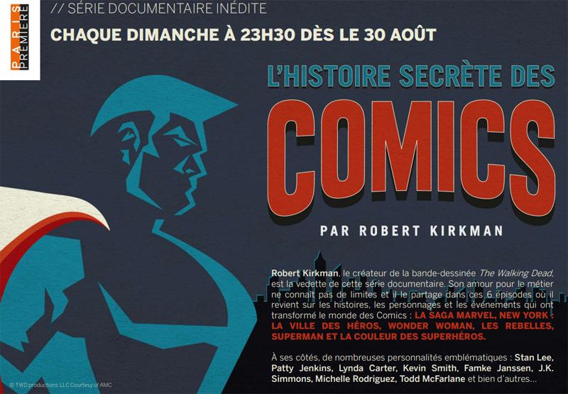L'Histoire Secrète des Comics