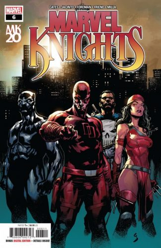 MARVEL KNIGHTS 20TH 6 325x500 Comic Review for week of January 30, 2019
