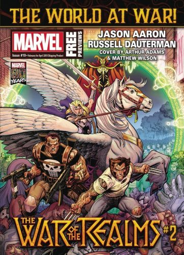 MARVEL PREVIEWS 19 362x500 Comic Review for week of January 30, 2019