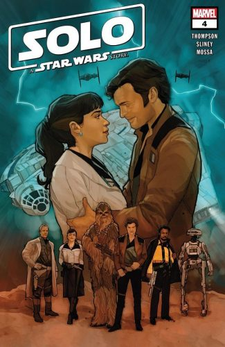 SOLO A STAR WARS STORY 4 325x500 Comic Review for week of January 30, 2019
