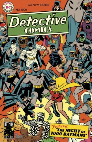 DETECTIVE COMICS 1000 325x500 Comic Review for week of March 27th, 2019