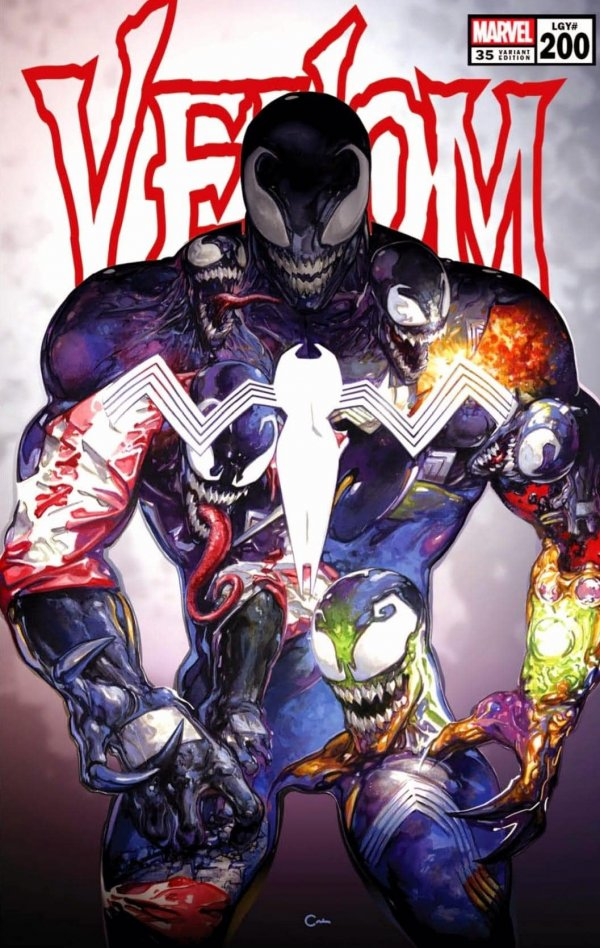 Venom 35 200 spoilers 0 24 Recent Comic Cover Updates For The Week Ending 2021 06 25