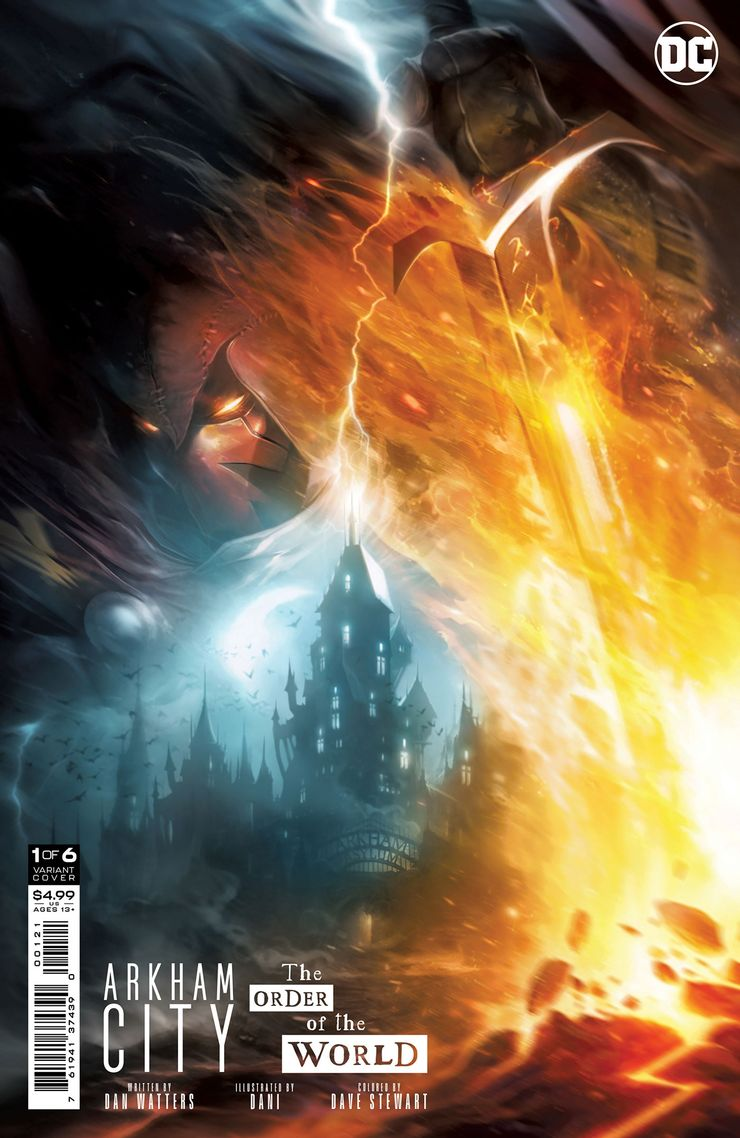 ARKHAM CITY THE ORDER OF THE WORLD 1 B Recent Comic Cover Updates For The Week Ending 2021 07 23