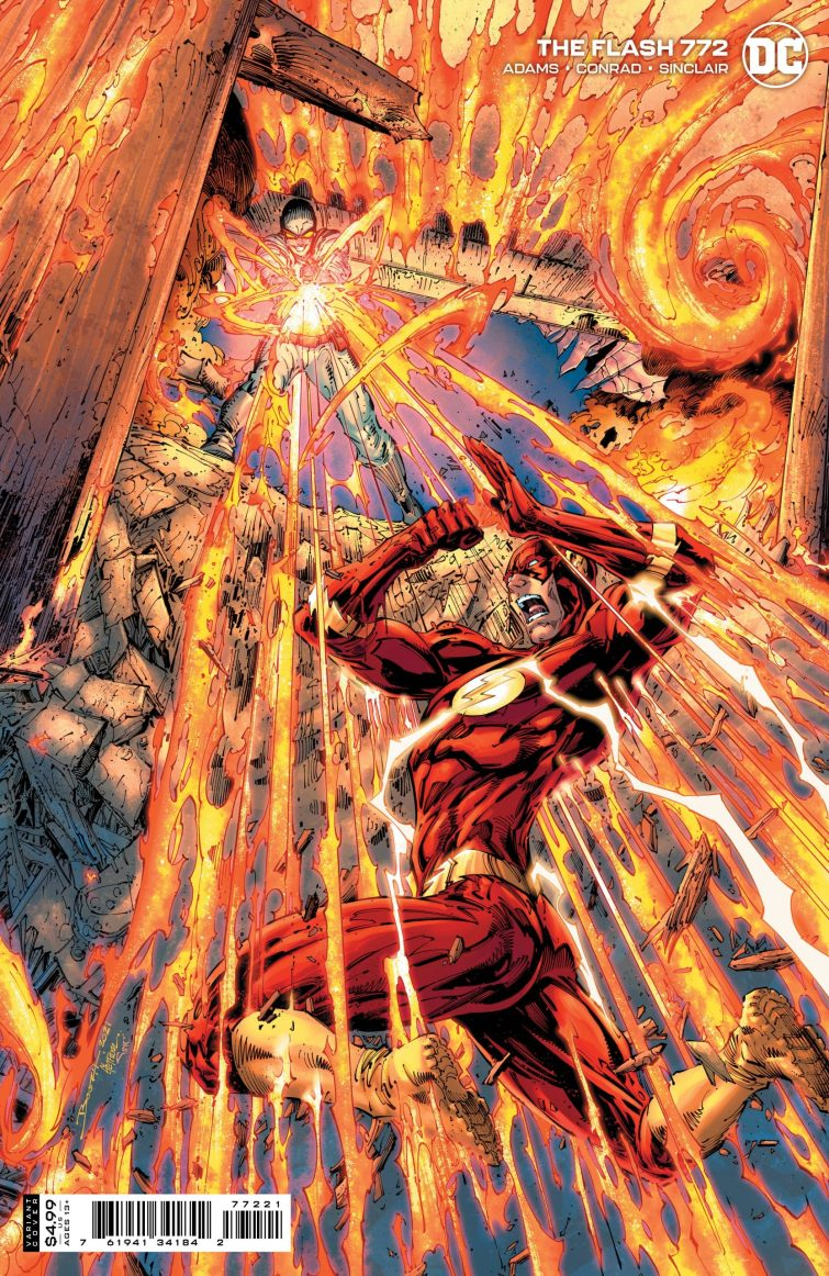 Flash 772 variant scaled 1 Recent Comic Cover Updates For The Week Ending 2021 07 16