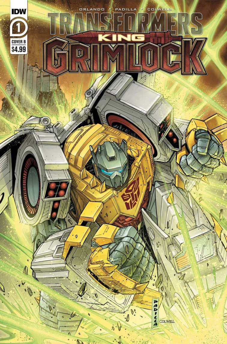 tfgrimlock 01 cover b Recent Comic Cover Updates For The Week Ending 2021 07 23