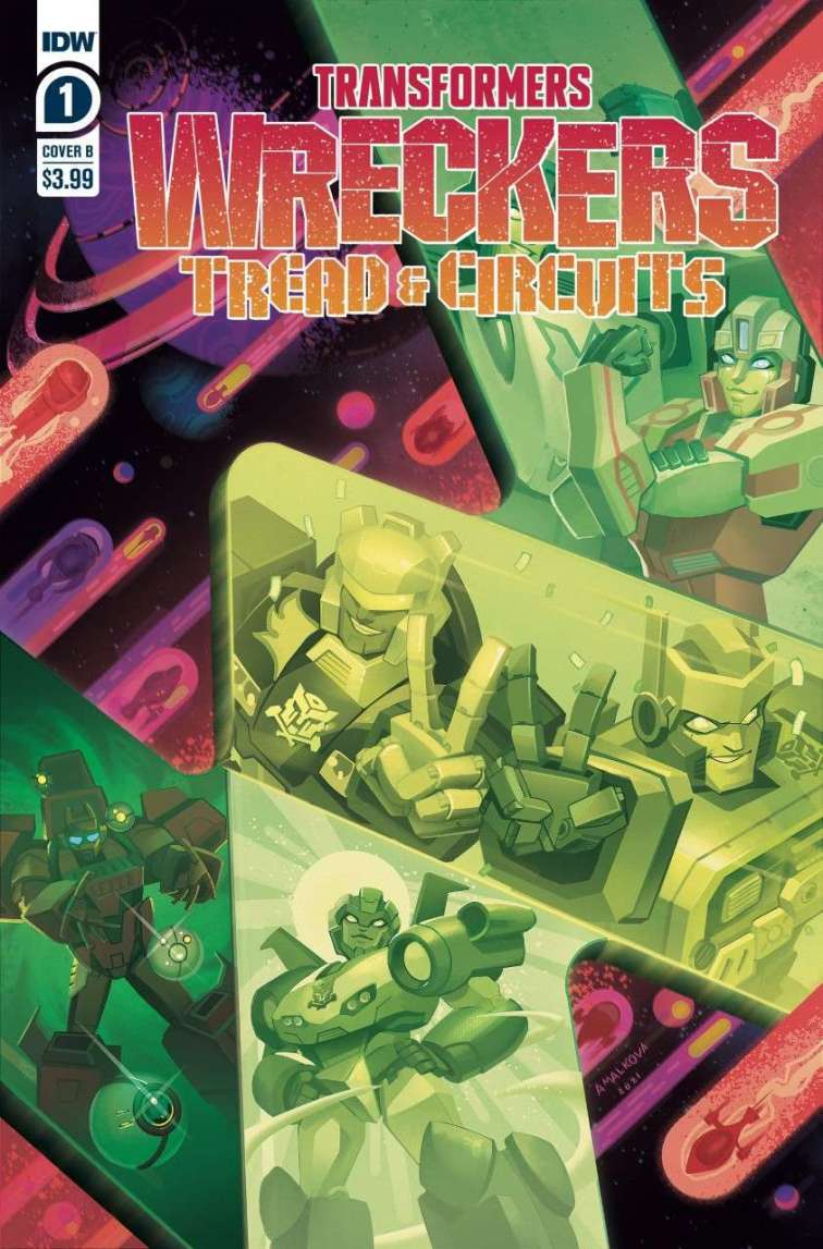 thumbnail transformers wreckers tread circuits 1 cover b by anna malkova Recent Comic Cover Updates For The Week Ending 2021 07 30